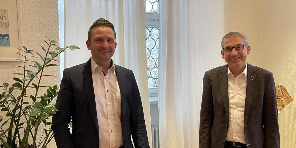 Zu Besuch bei Tettnangs Bürgermeister